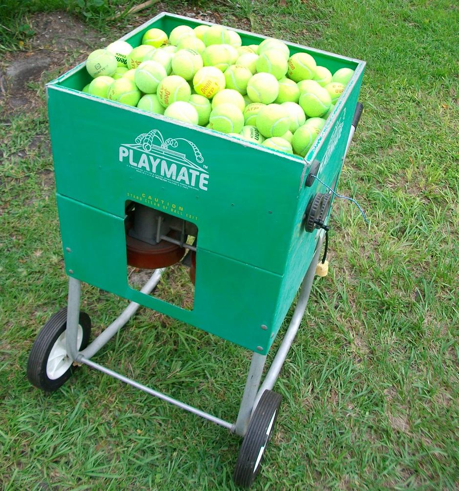 used tennis machine craigslist